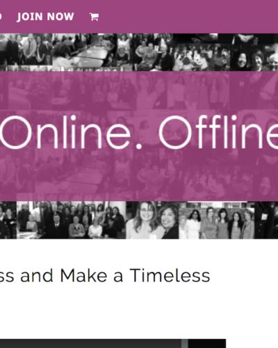 Promote Her Business website